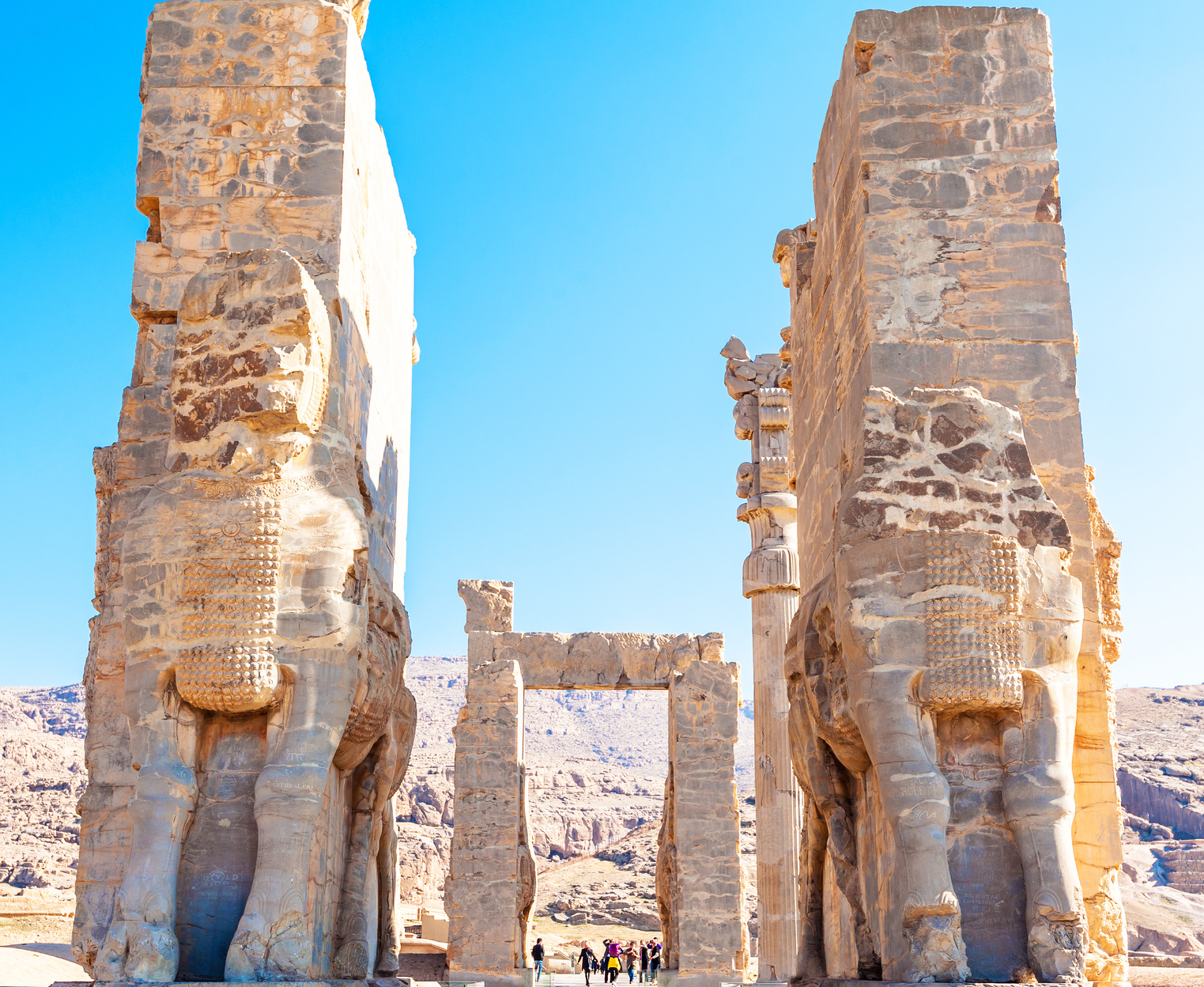 Entrance to Persepolis, Iran
