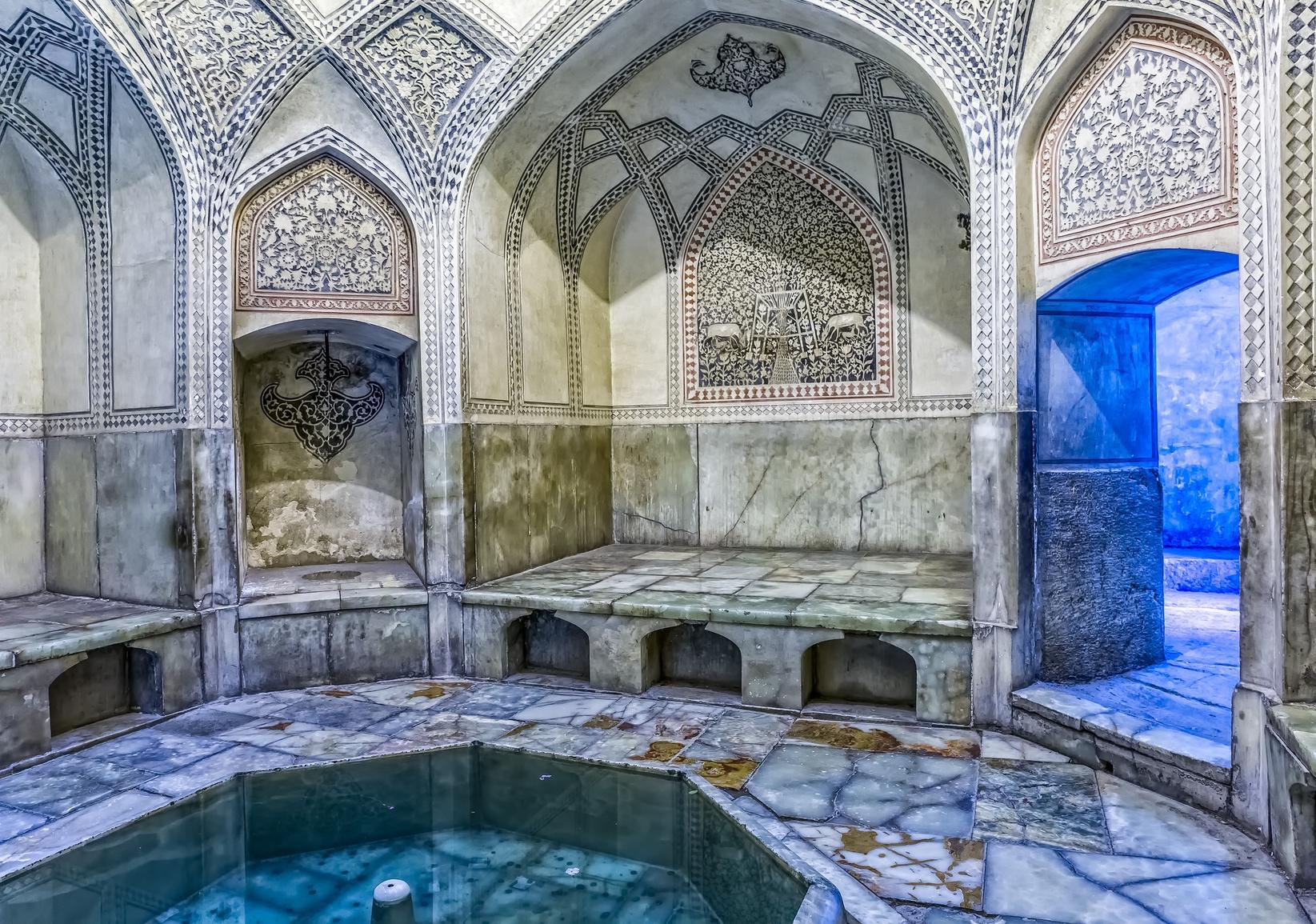 Bath inside the Arg of Karim Khan in the centre of the Shiraz city.