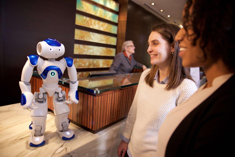 Hilton's robot Connie
