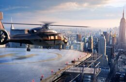 Virtual reality helicopter
