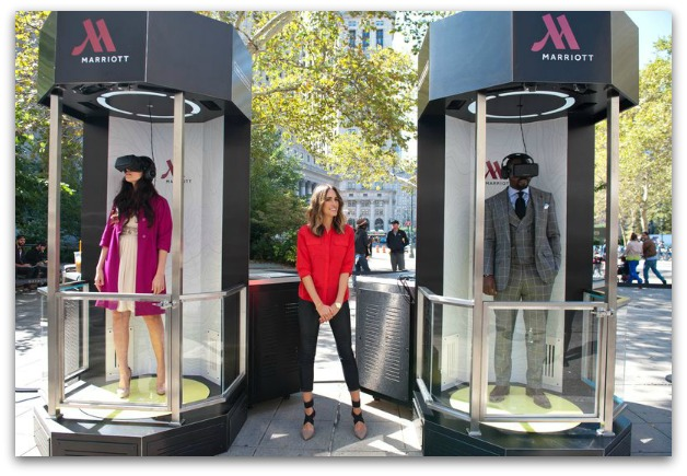 Marriott virtual reality transporter