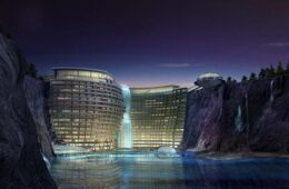 Songjiang Intercontinental Quarry Hotel in China