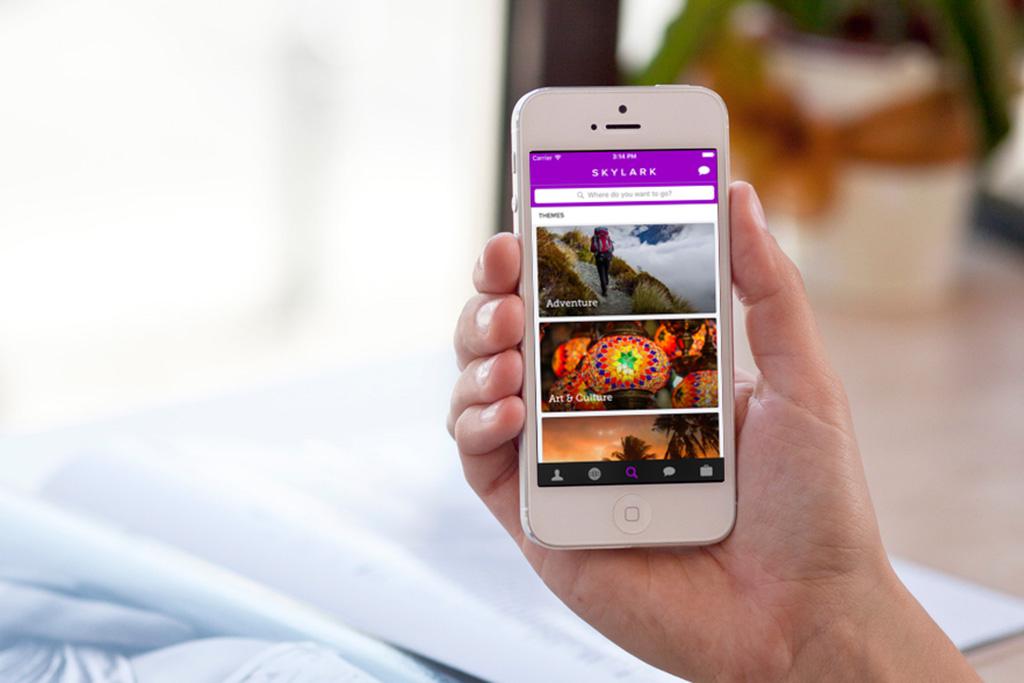Skylark travel app