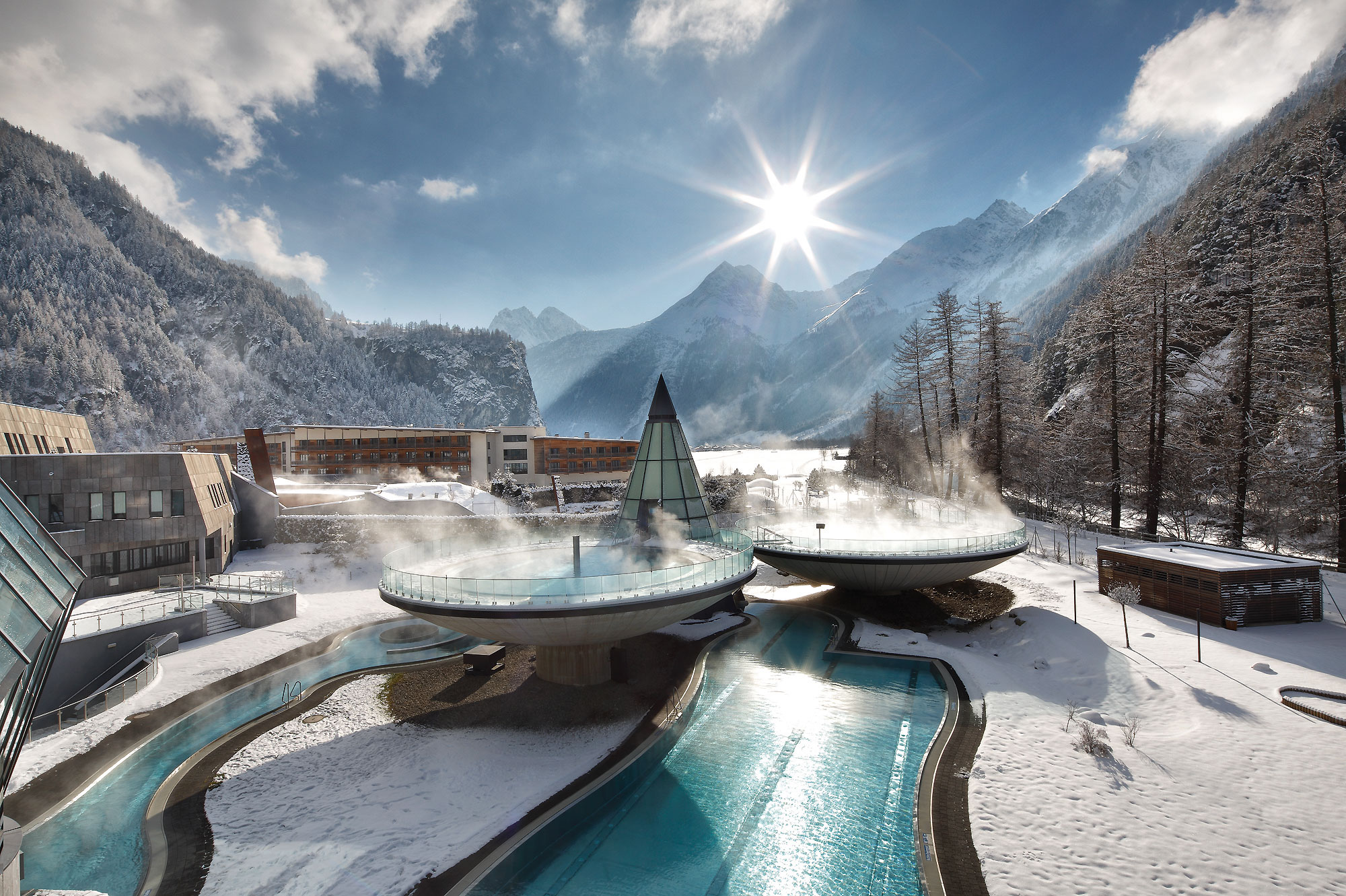 Aqua Dome Austria nude experience