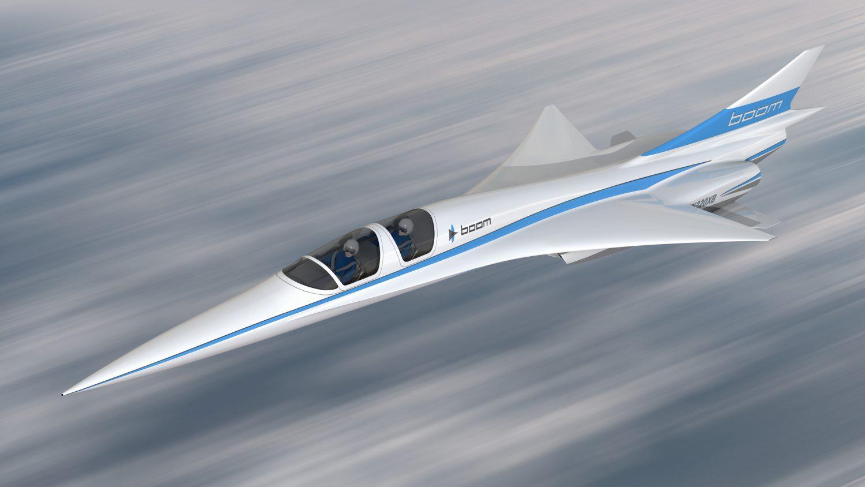 Baby Boom supersonic plane