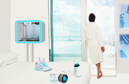 3D printer hotel room of the future