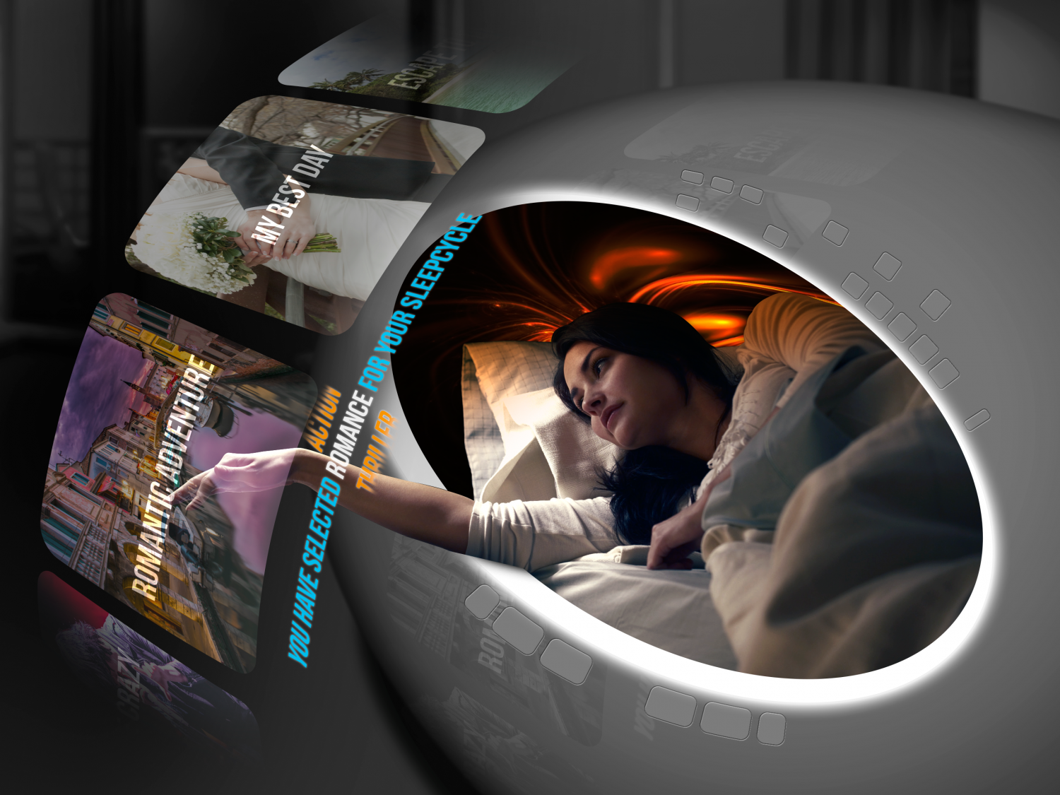 Neuro-dreaming hotel of the future