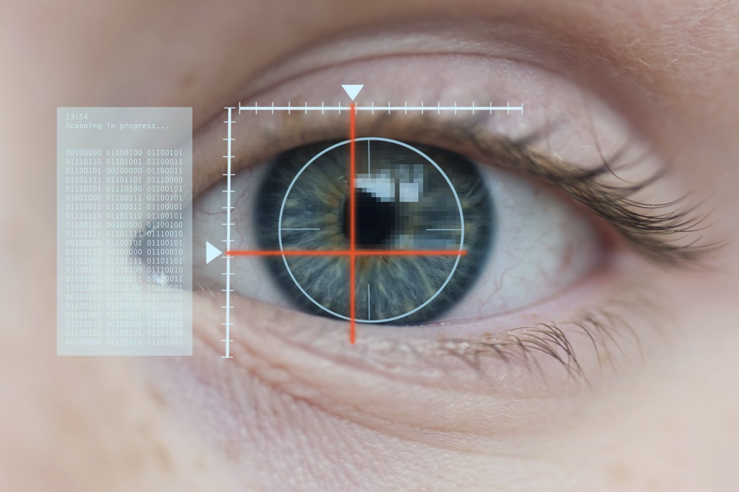 Facial recognition airport of the future