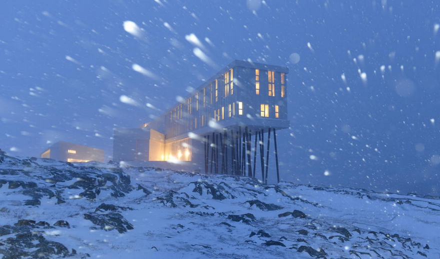 Remote hotels, Fogo Island Inn