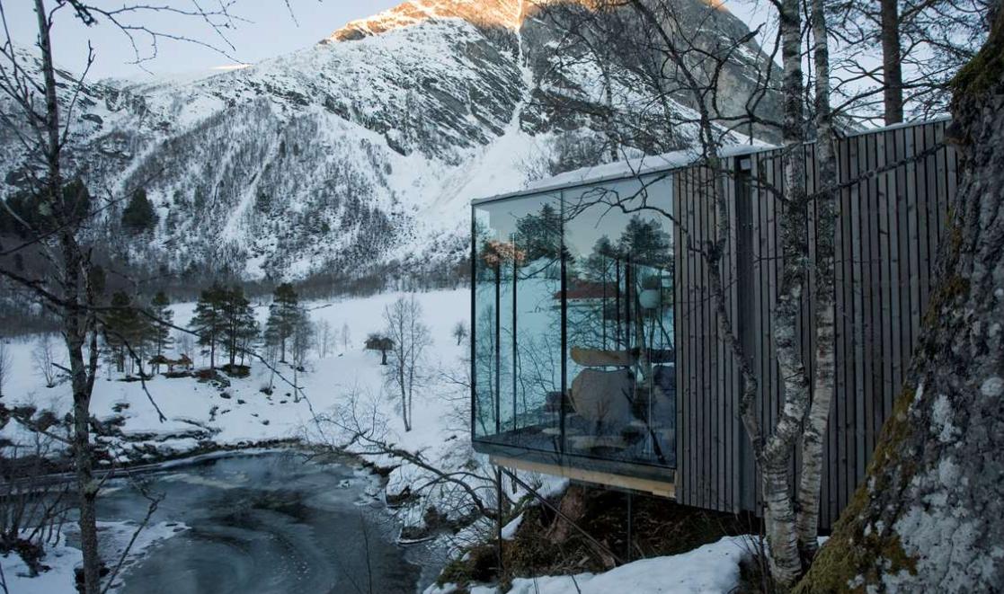 Remote hotels – Juvet Landscape hotel