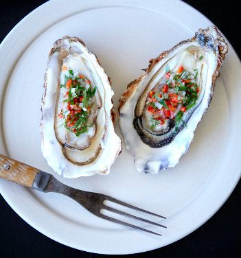 Oysters at Westerns Laundry