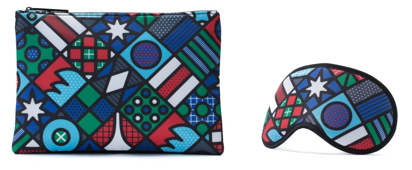 Qantas art amenity kit Craig and Karl - Home