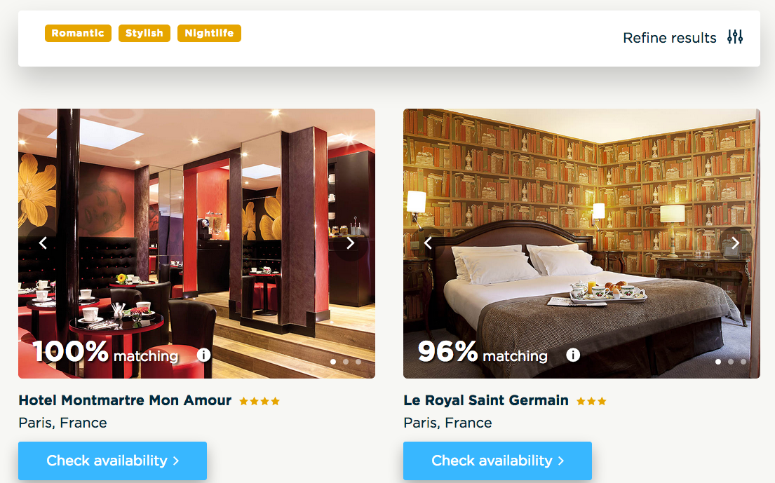 Accorhotels MoodMatch