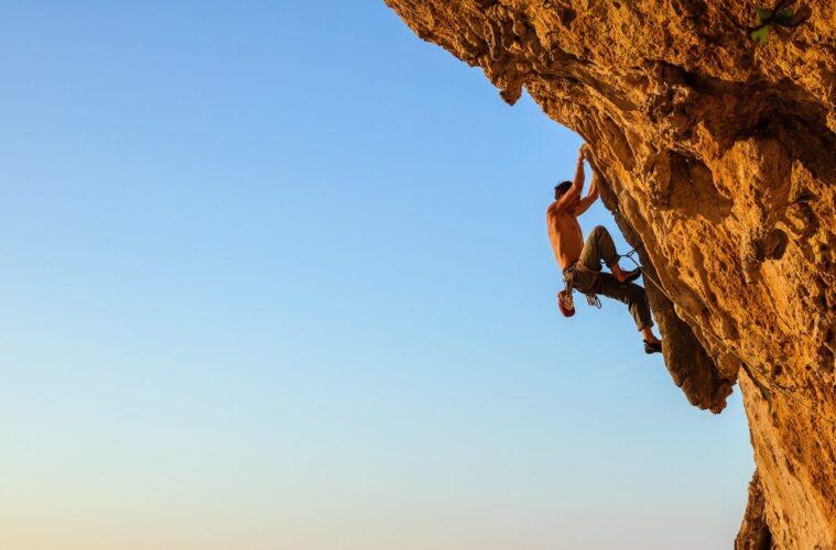 Young climber
