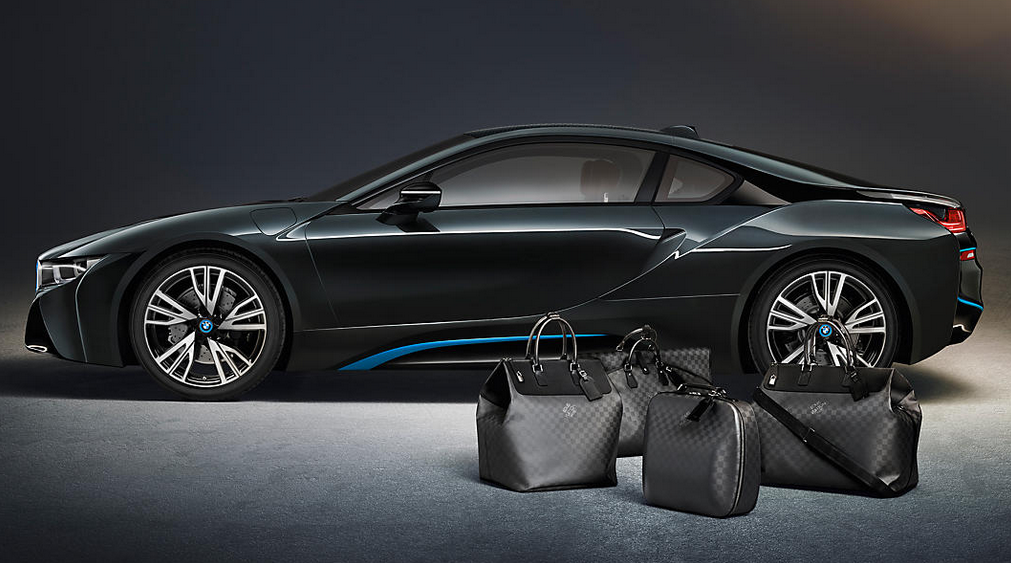 BMW x Louis Vuitton luggage