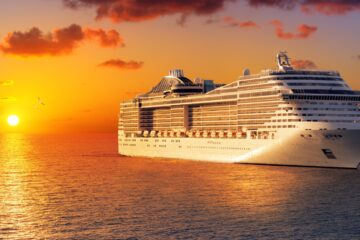 Ultra luxury cruise ship