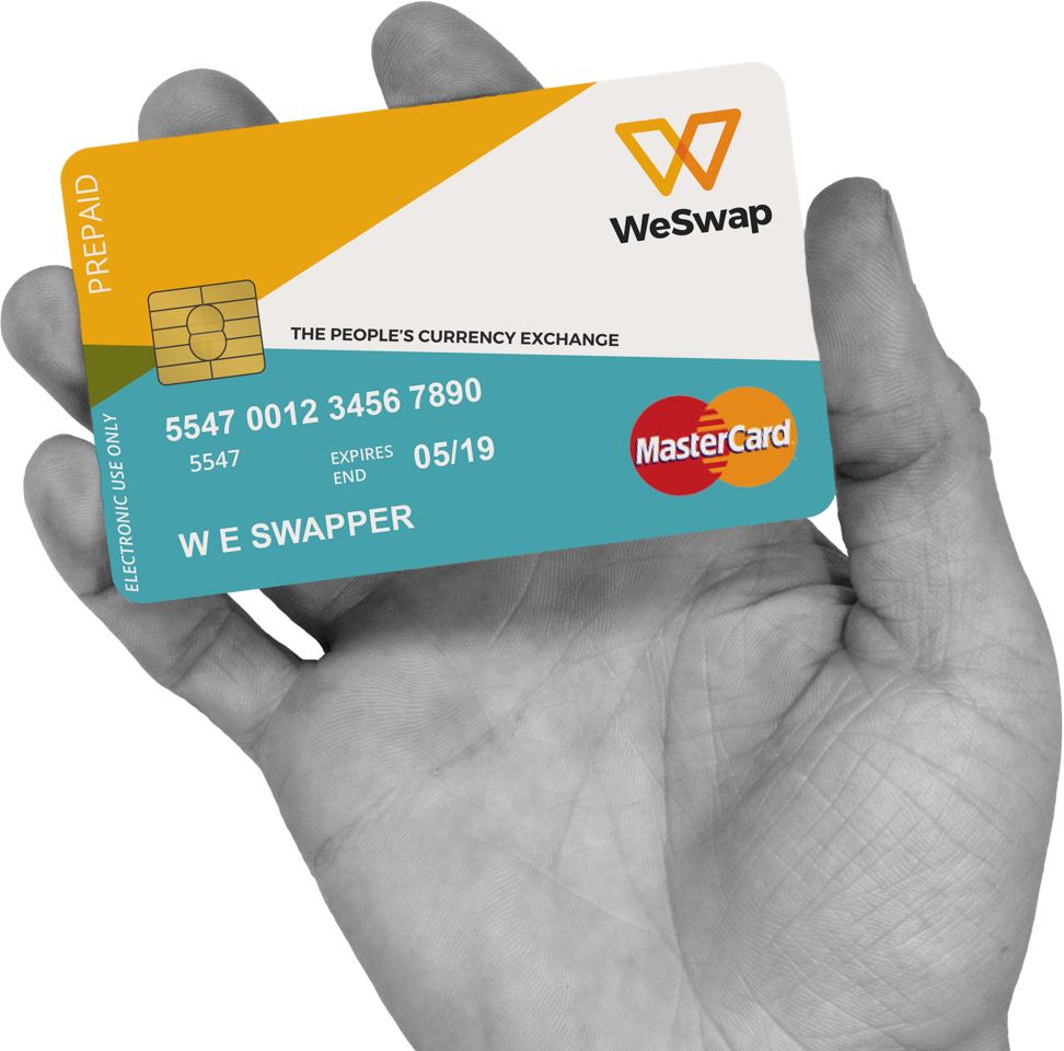 WeSwap travel card