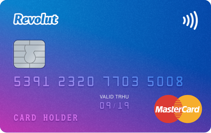 Revolut travel card