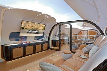 Infinito cabin sky ceiling