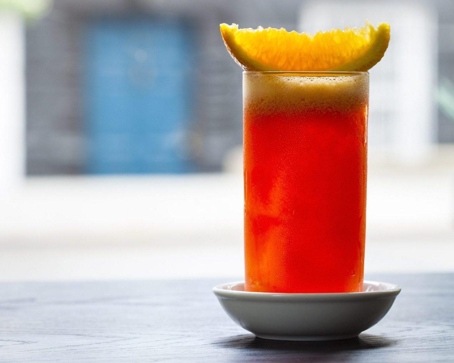 Aperitivo cocktails, Garibaldi, Dante