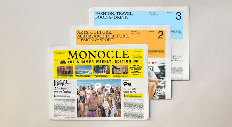 Monocle Summer Weekly