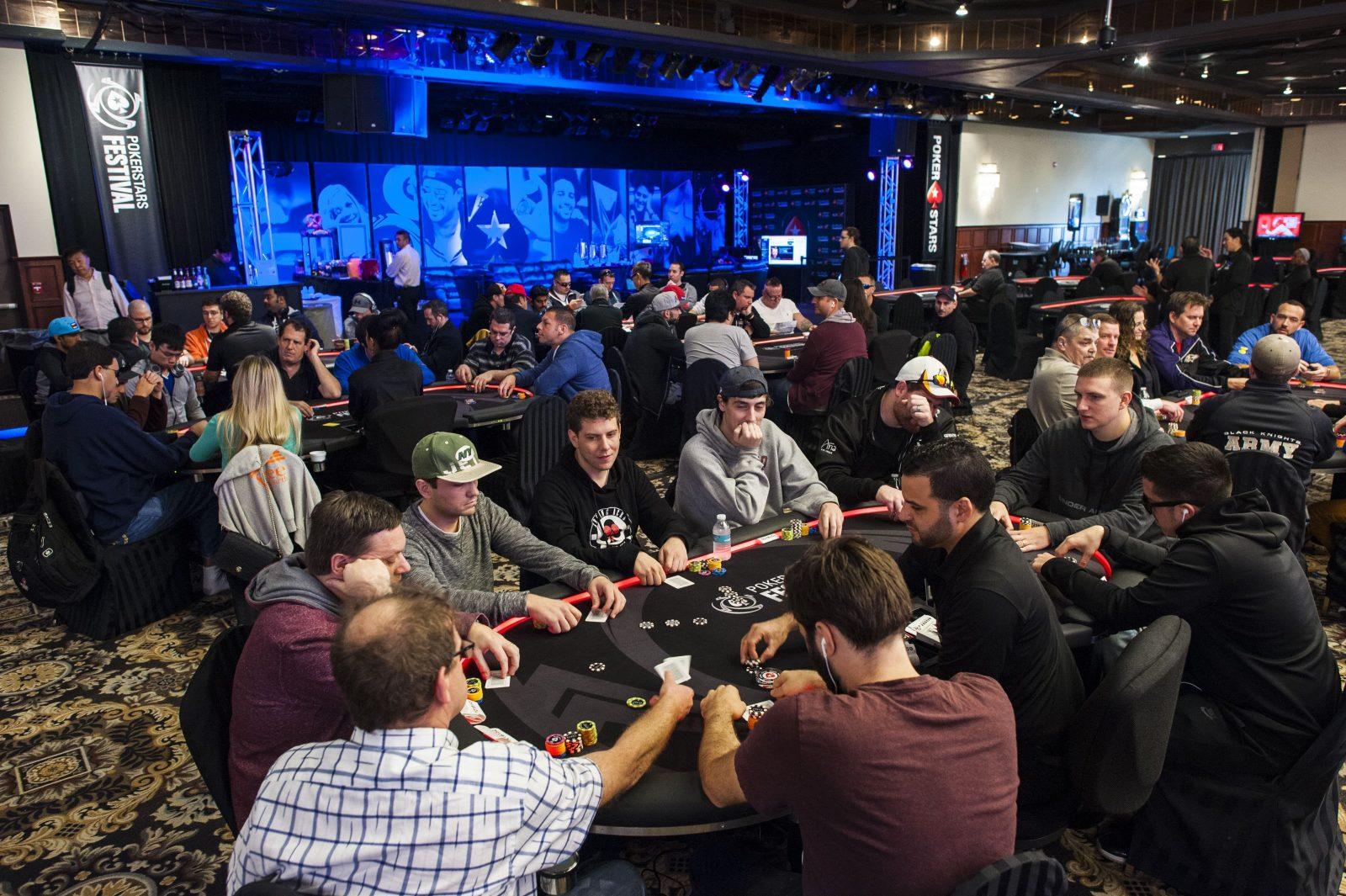 PokerStars live event poker tourism