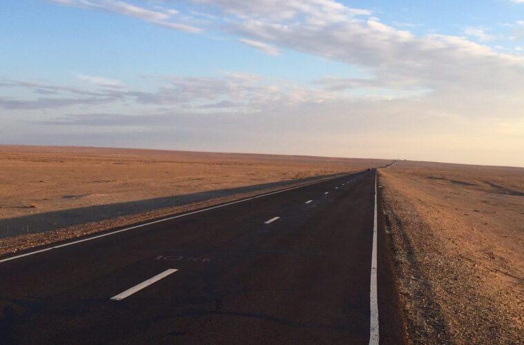New BRI road - China