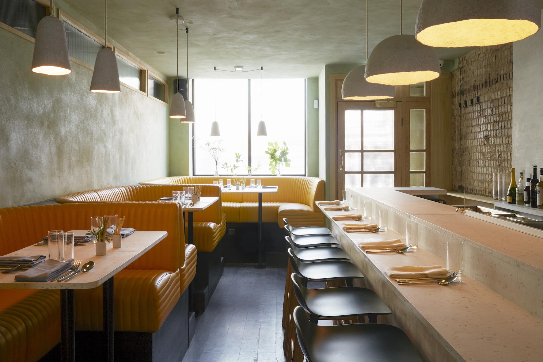 Cub restaurant, London