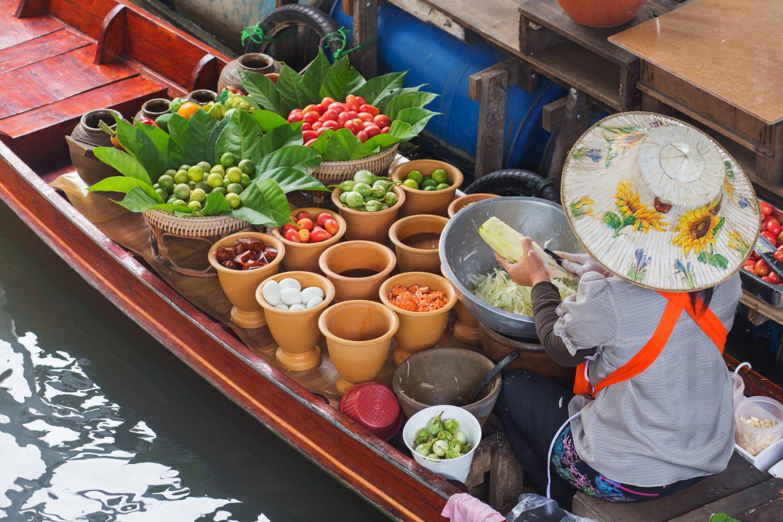 Vegan travel Thailand
