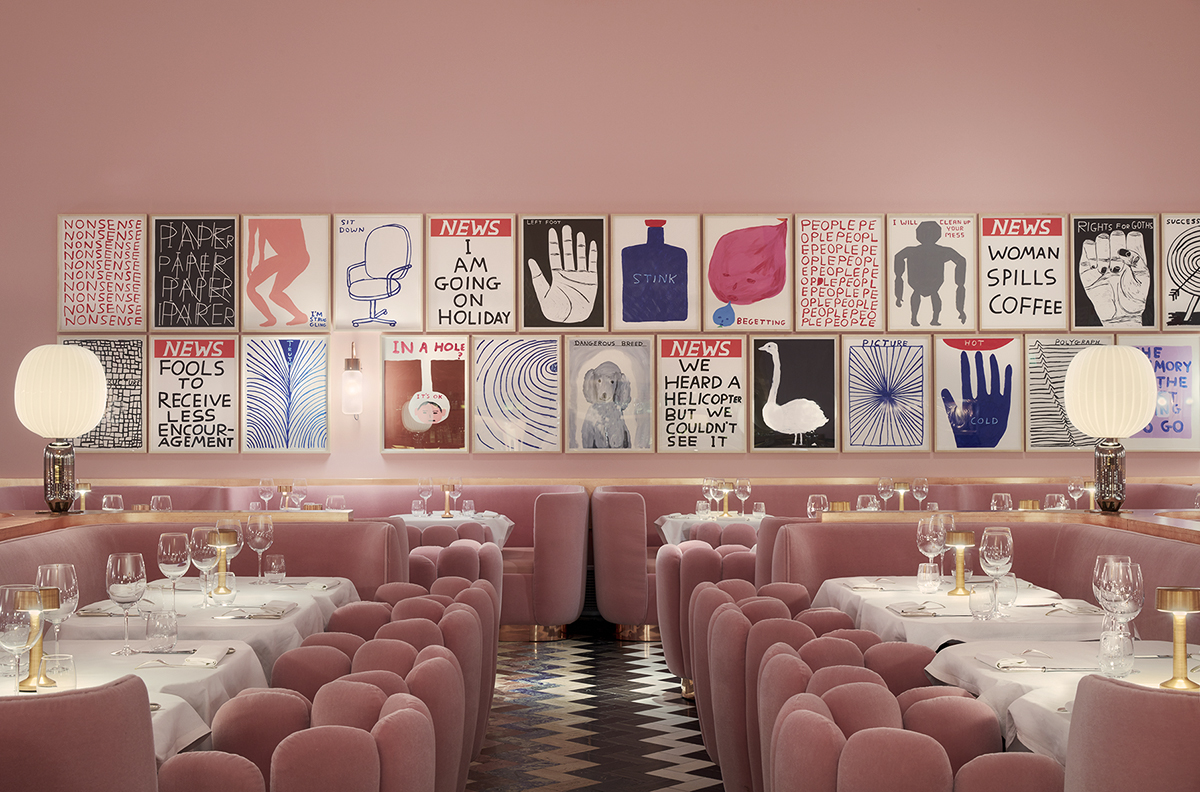 Sketch Gallery restaurant © Ed Reeve