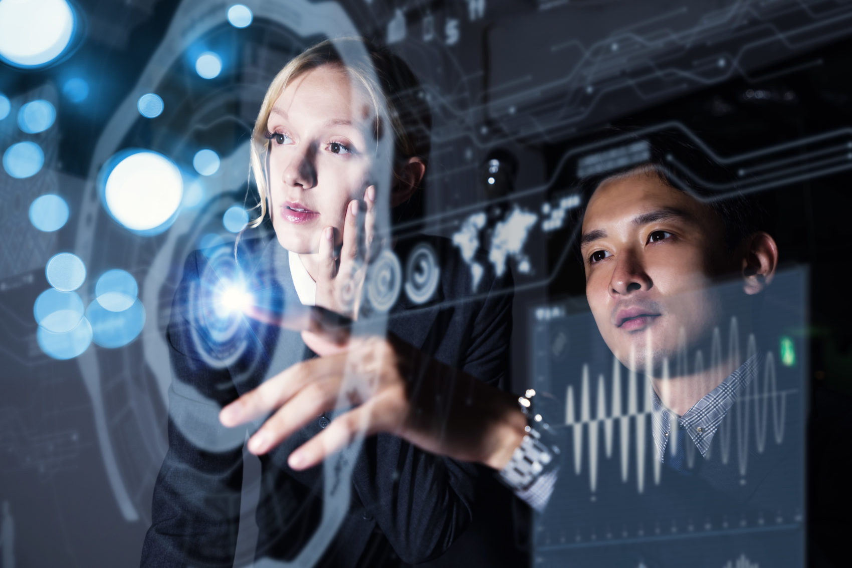 Futuristic screens