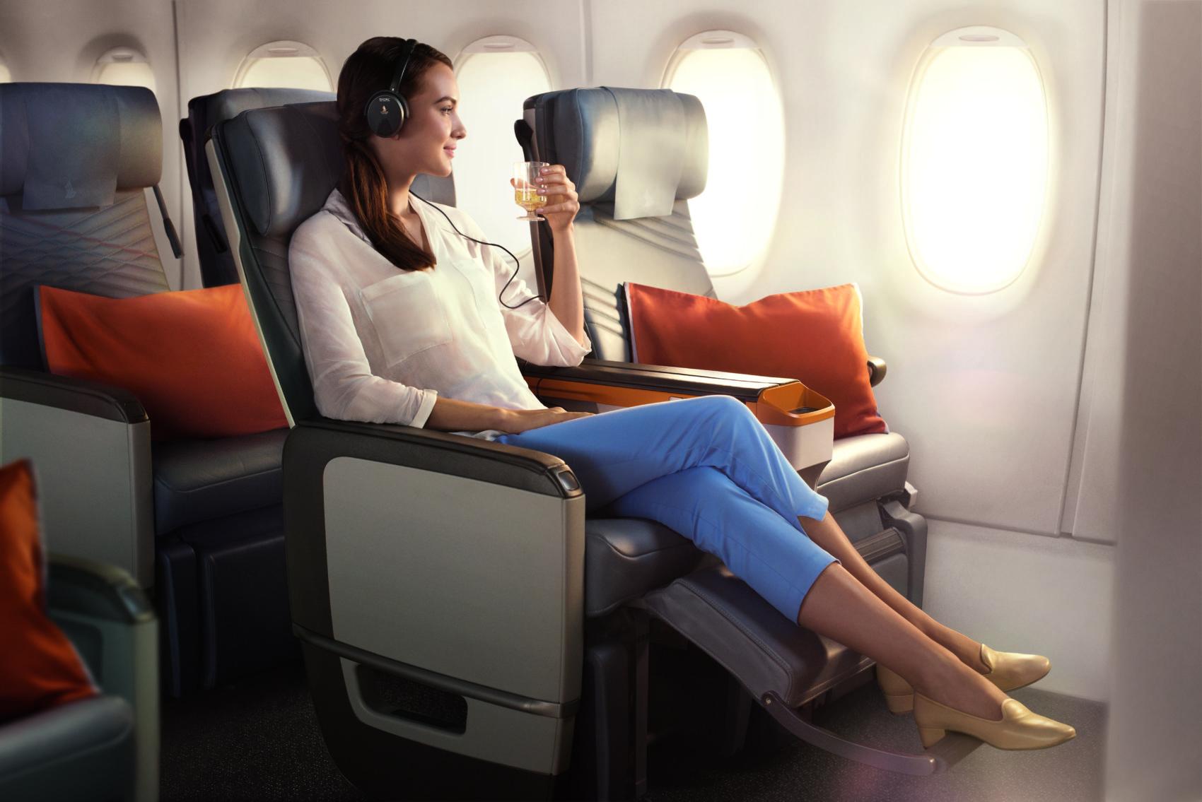 Sinagpore Airlines A350-900 premium economy