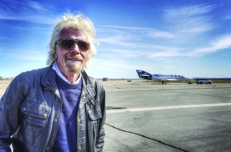 Richard Branson and Virgin Galactic VSS Unity