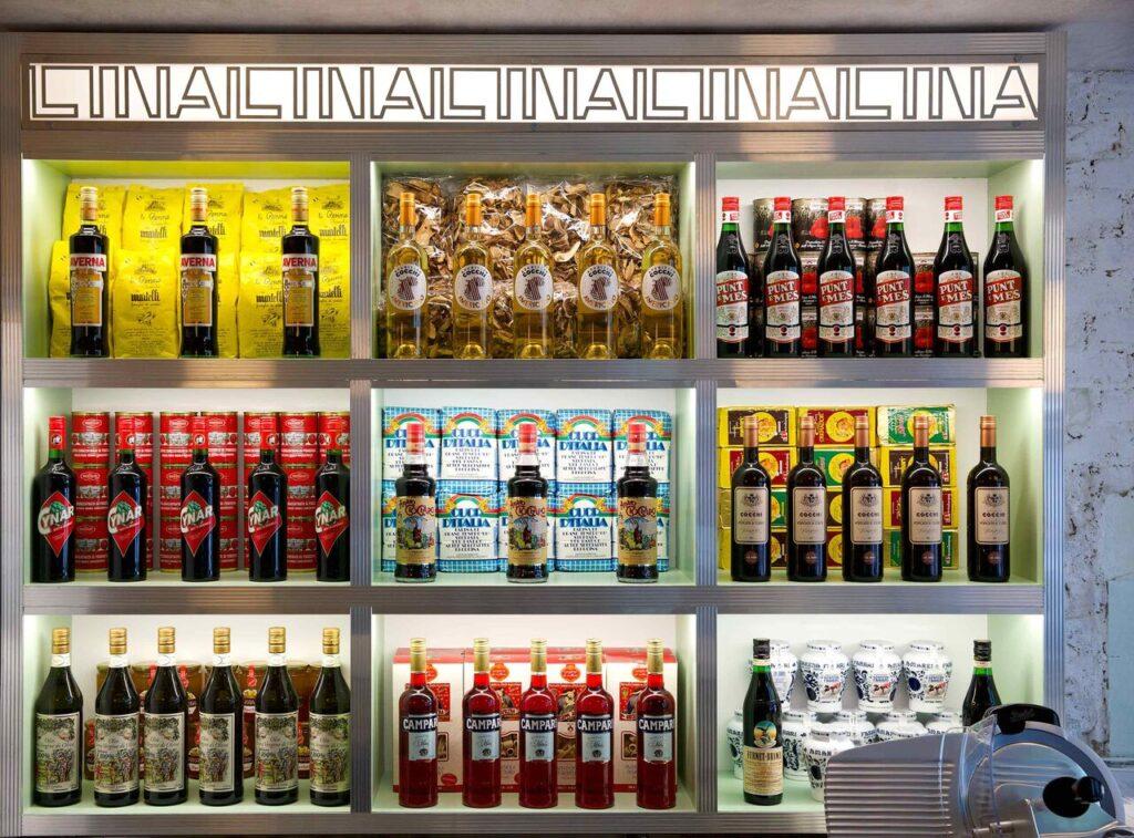 Lina Stores restaurant