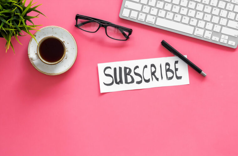 Email newsletter subscribe