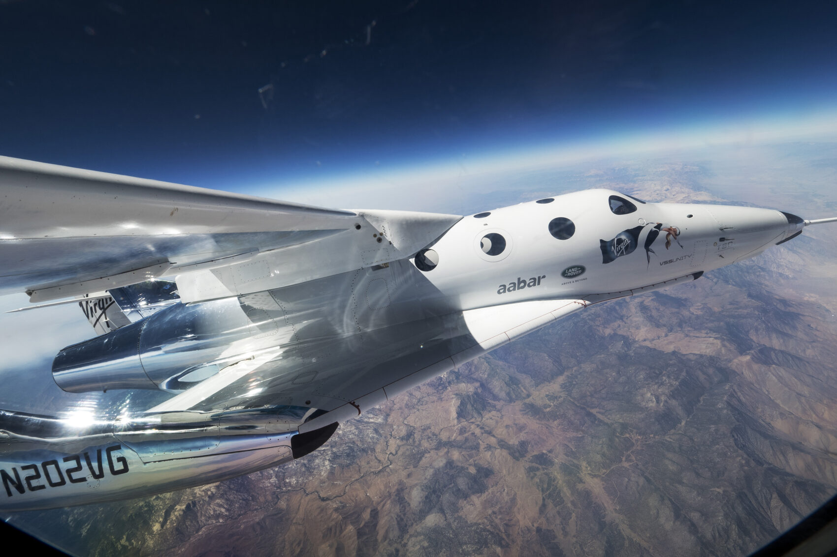 Virgin Galactic's VMS Eve