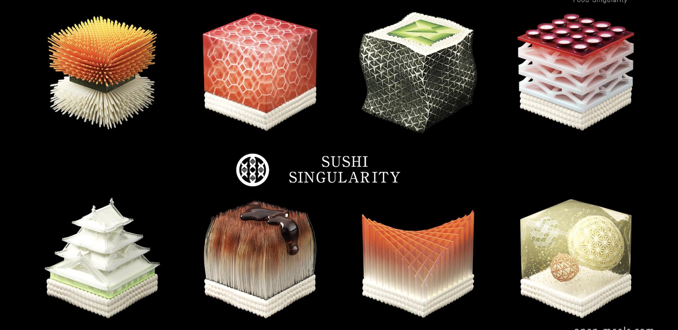 3D printed sushi, Sushi Singularity