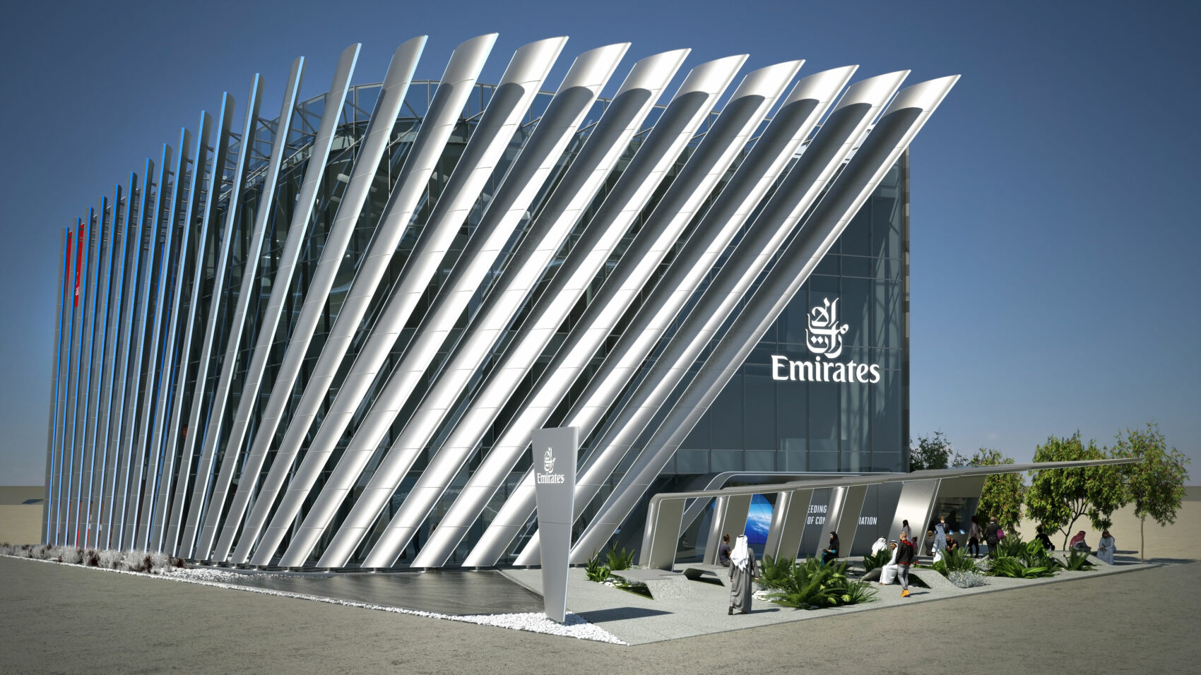 Emirates Expo 2020 pavilion