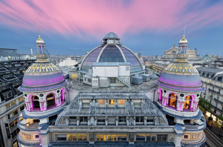 Paris Grands Magasins Boulevard Haussmann