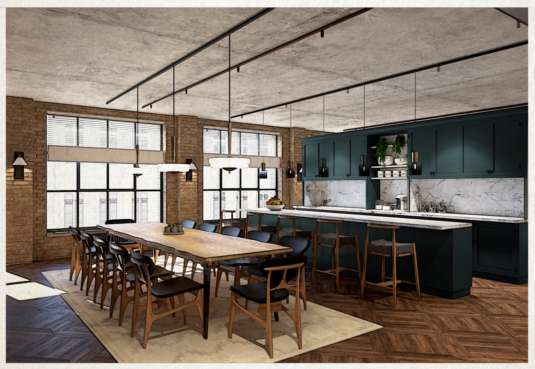 Working From, The Hoxton hotel
