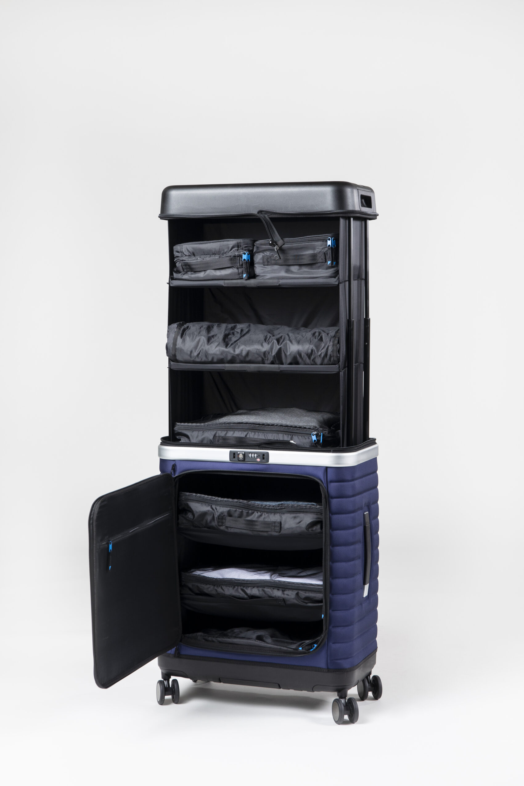Crowdfunding Starts For Pull Up Suitcase That Converts