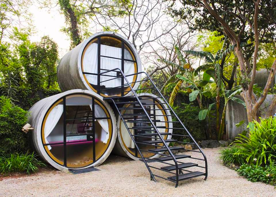 Unique Pipe Accommodation in Glamping Resort near Mexico City - Glamping Hub 1