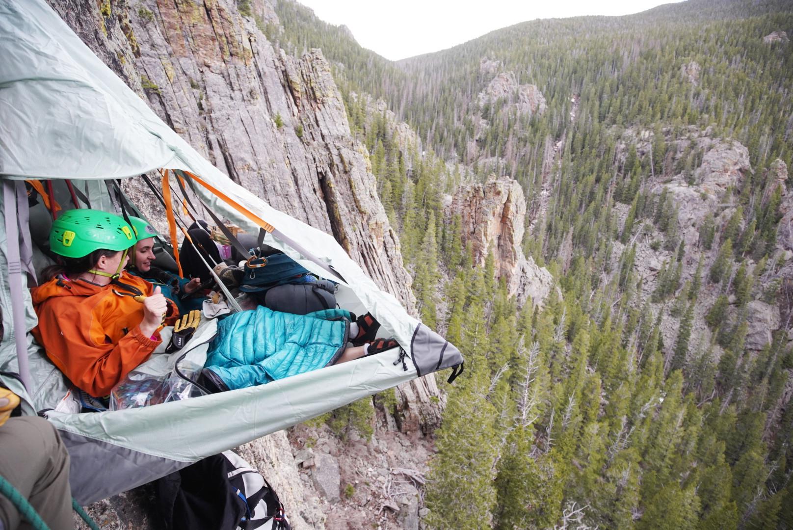 Cliff camping in Colorado Airbnb Adventures
