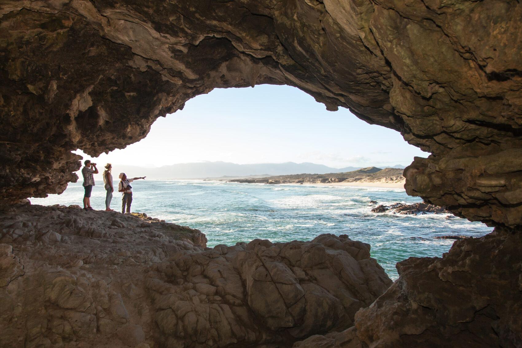 Grootbos coastal safari caves