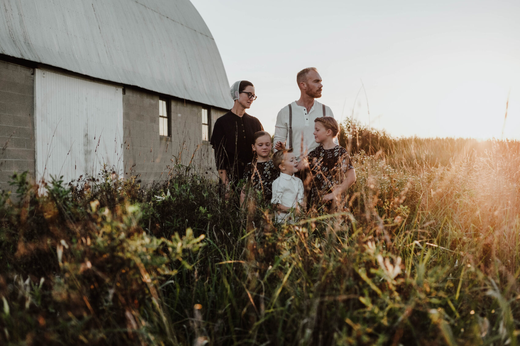 Airbnb Adventure Amish family