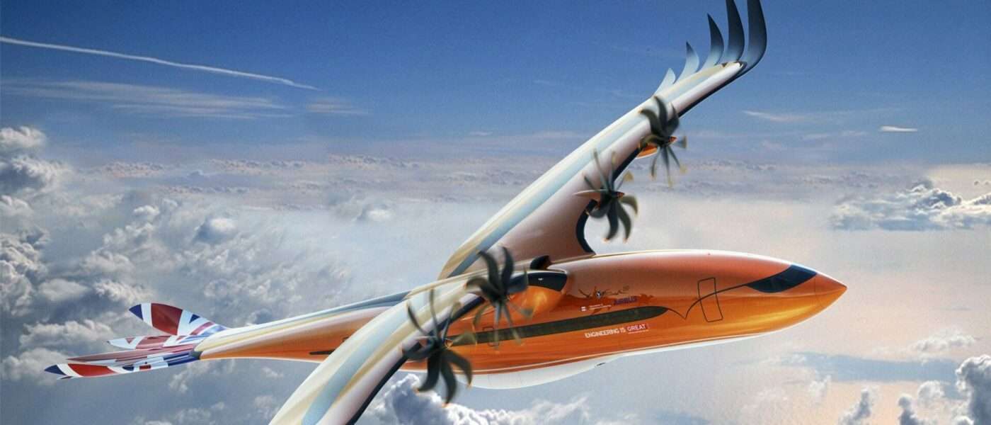 New Concept Planes From Airbus Mimic The Biomechanics Of Birds