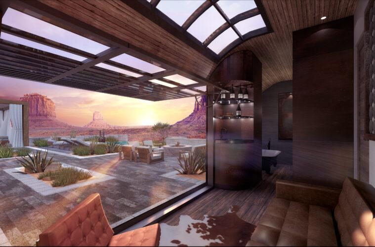 Infinite Explorer hotel-train