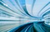 High-speed train tunnel