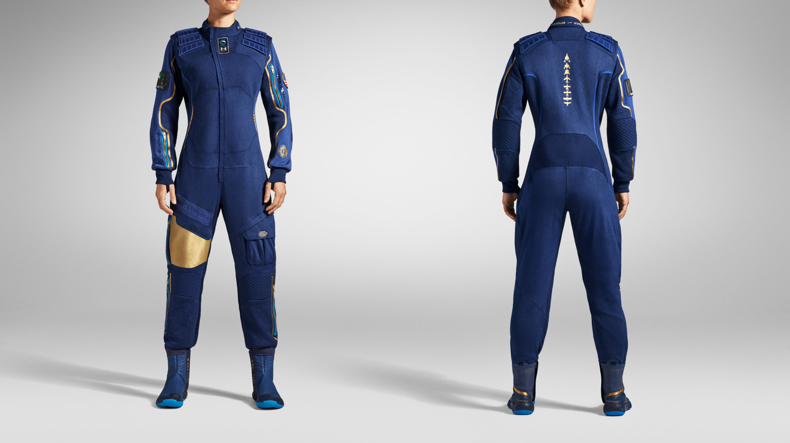 Under Armour spacesuits for Virgin Galactic
