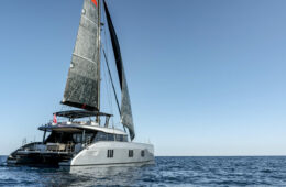 E eco-catamaran Sunreef Yachts